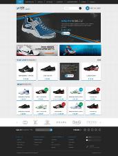 Plantilla gratis Prestashop Sportshoes