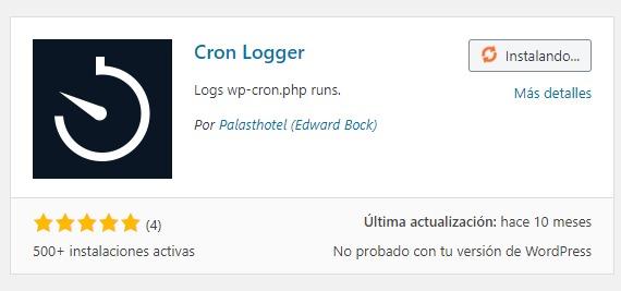 Plugin Cron Logger