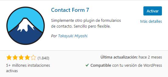 plugins de formulario de contacto