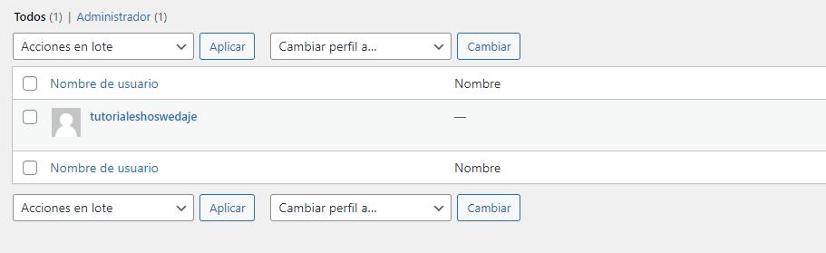 añadir usuarios en WordPress