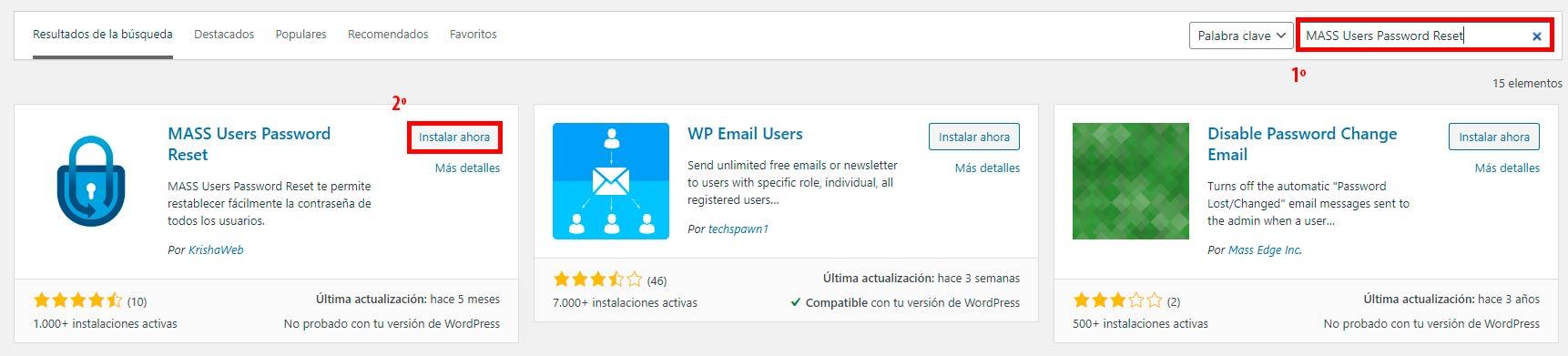 plugin MASS Users wordpress