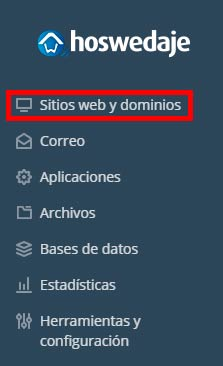 sitios web y dominios hoswedaje