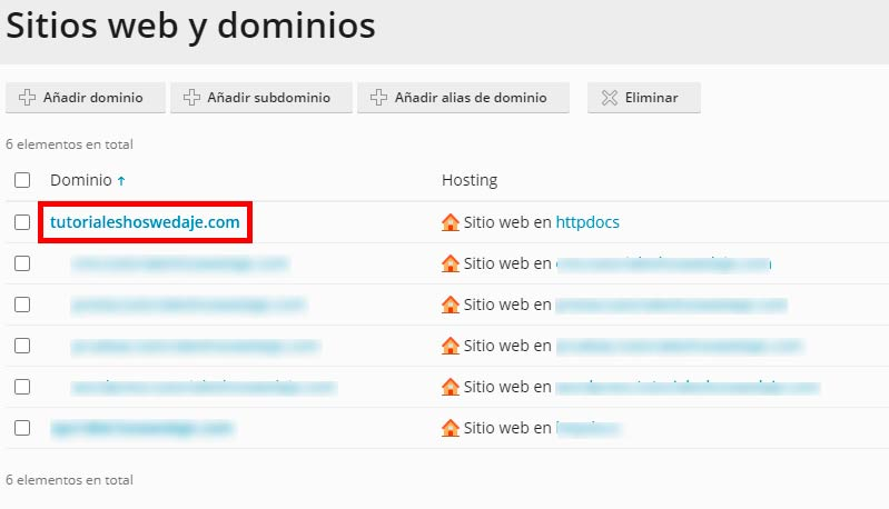 tutorial sitios webs y dominos