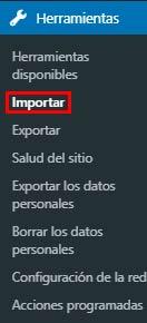 Exportar e Importar