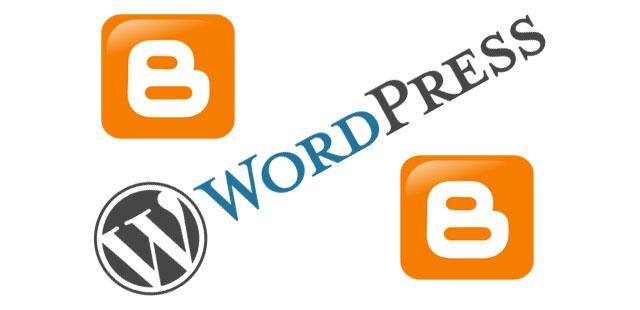 Comparativa WordPress.org vs. Blogger.com: ¿cuál te gusta más?