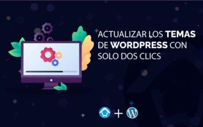 Actualizar los temas en WordPress con solo dos clics