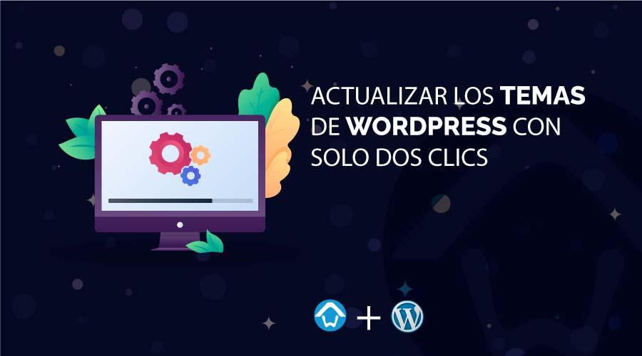 actualizar temas wordpress