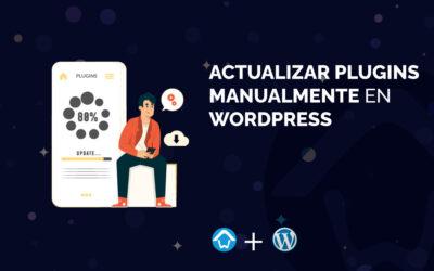 Actualizar plugins manualmente en WordPress