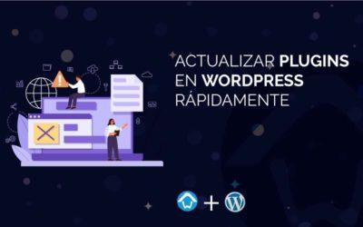 Actualizar Plugins en WordPress rápidamente