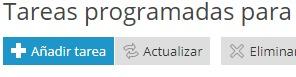 Añadir Tarea Programada en Plesk