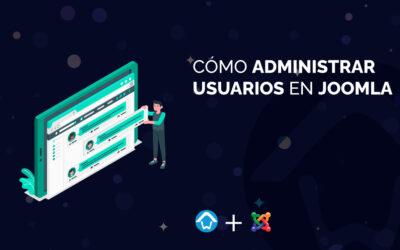 Cómo administrar usuarios en Joomla