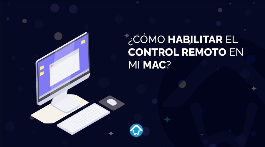 control remoto en mi mac