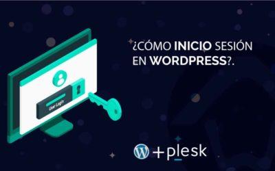 ¿Cómo inicio sesión en WordPress?