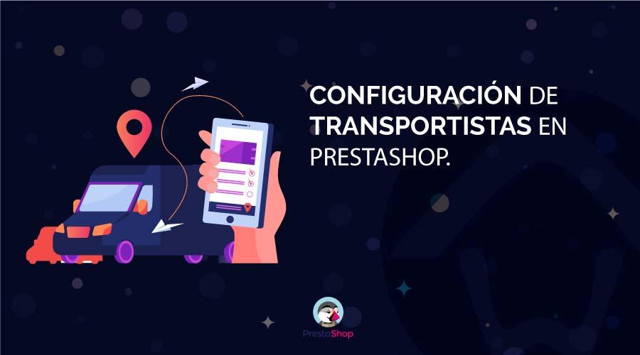 transportistas prestashop 1.7