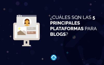 ¿Cuáles son las 5 principales plataformas para blogs?