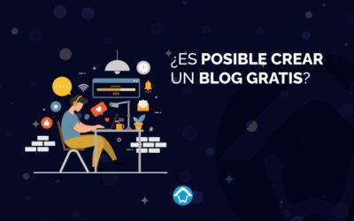 ¿Es posible crear un blog gratis?