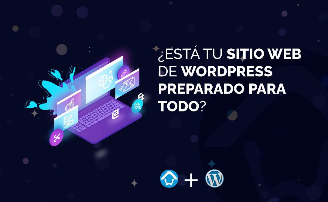 sitio web de WordPress