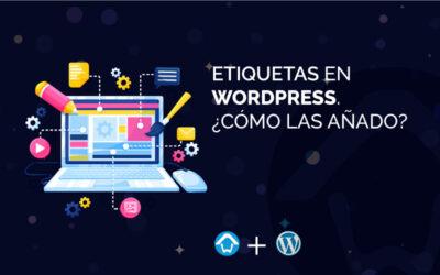 Etiquetas en WordPress. ¿Cómo las añado?