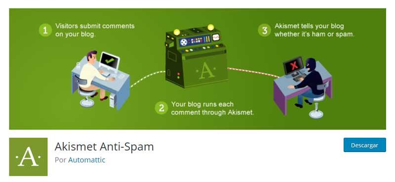 ¿Cómo evitar el Spam que llega desde el formulario de mi Web?