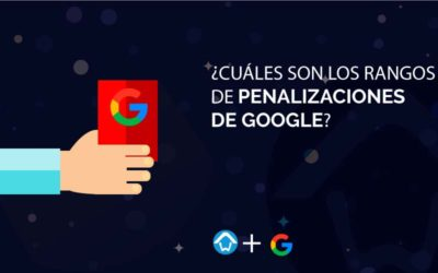 ¿Cuáles son los rangos de penalizaciones de Google?