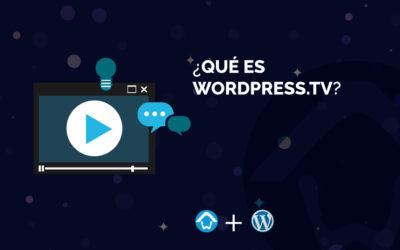 ¿Qué es WordPress.tv?
