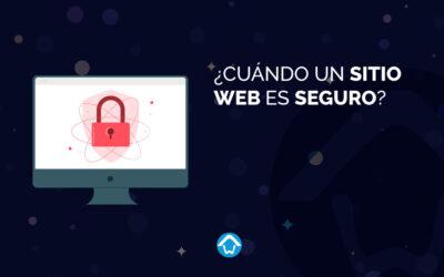 ¿Cuándo un sitio web es seguro?